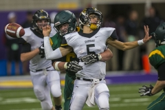 Bishop Garrigan vs. St. Albert during the Class A semifinal round at the UNI Dome in Cedar Falls.